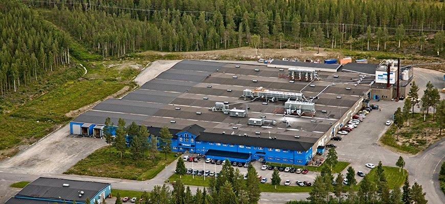 Drömtrappor, fabrik & huvudkontor