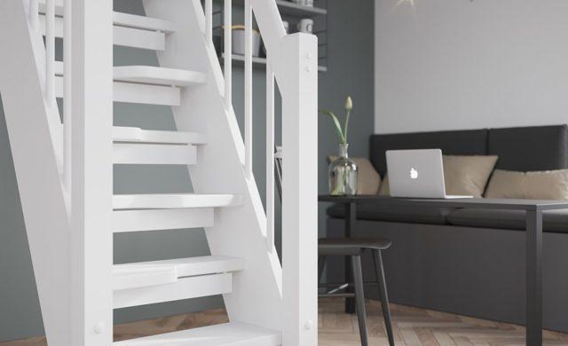Spar 4.4.1, säkrare än en stege men inte lika platskrävande som en trappa