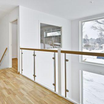 Rounded edge railing