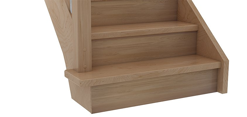 Block step Bs5e in tight design