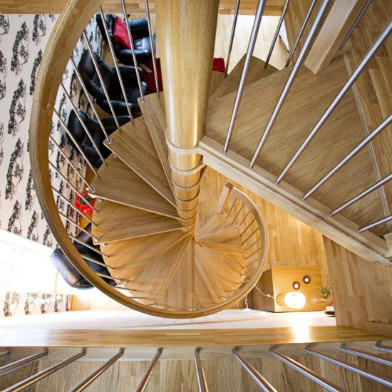 Trappa Älvsbacka spiral 2008